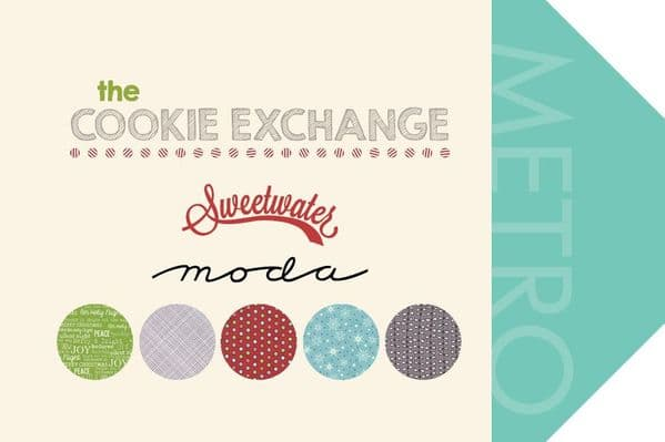 Moda - The Cookie Exchange - Red Cotton Quilting Fabric